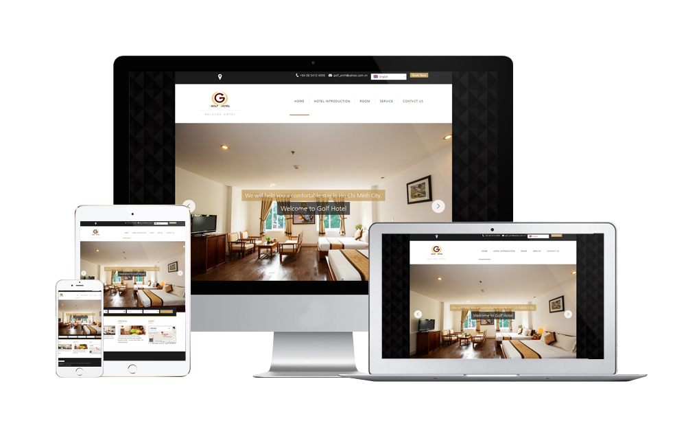 호텔 홈페이지 제작, 베트남 웹사이트
